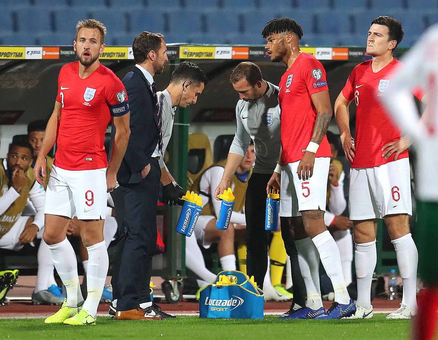 'Absolutely disgusting': England game stopped by 'abhorrent' racism drama