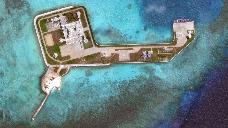 Chinese warplanes fly patrols over South China Sea