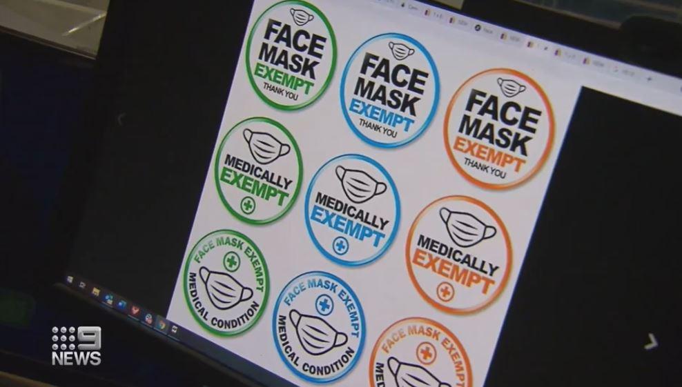 Mask exemption fakes