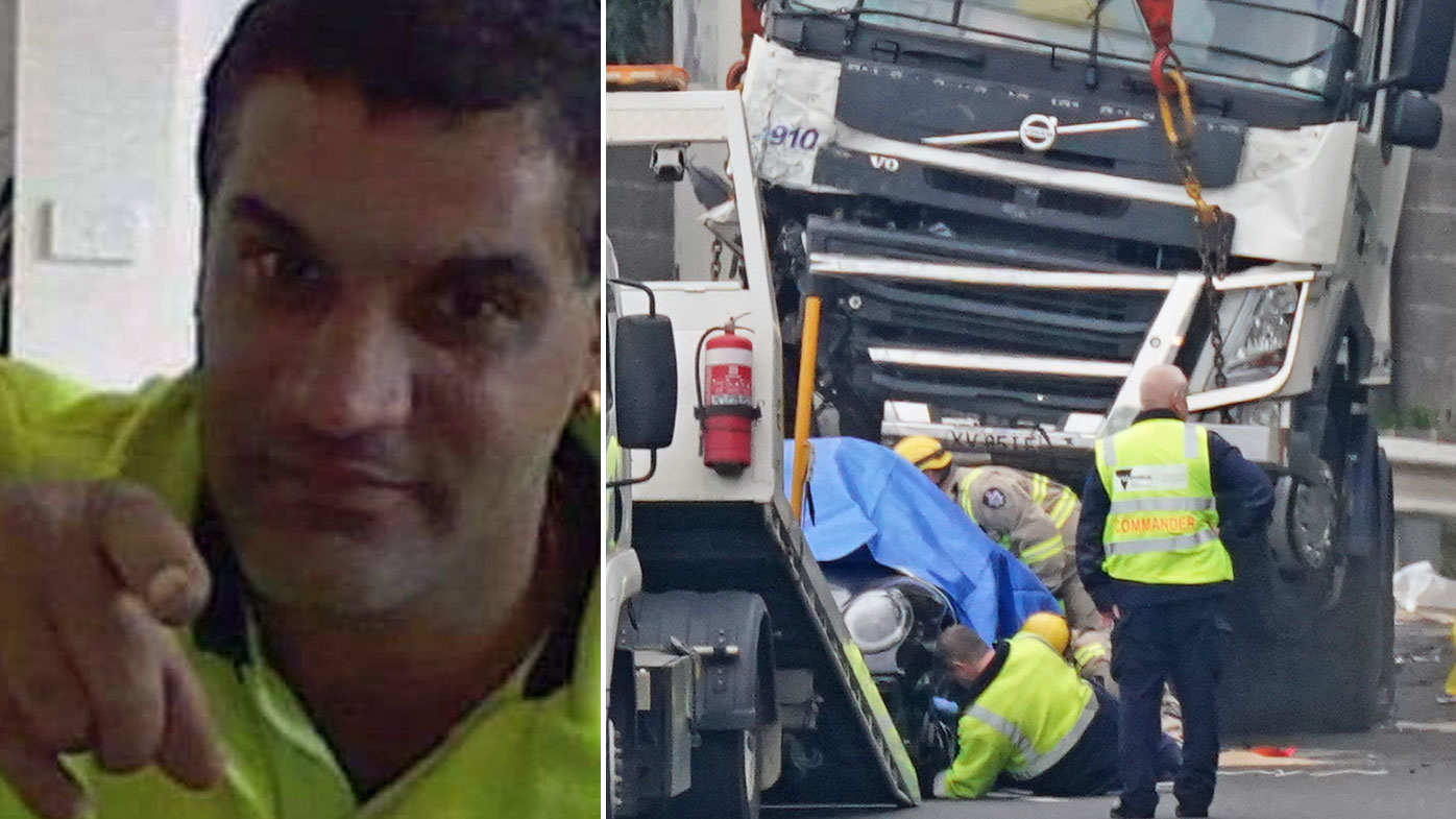 Truck driver 'genuinely sorry' over freeway police deaths