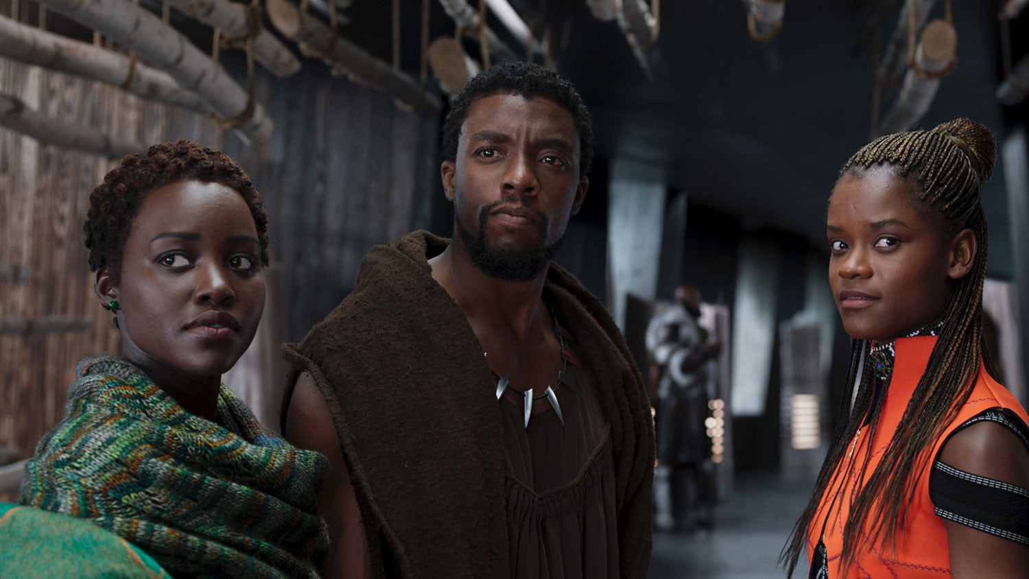 The cast of Black Panther
