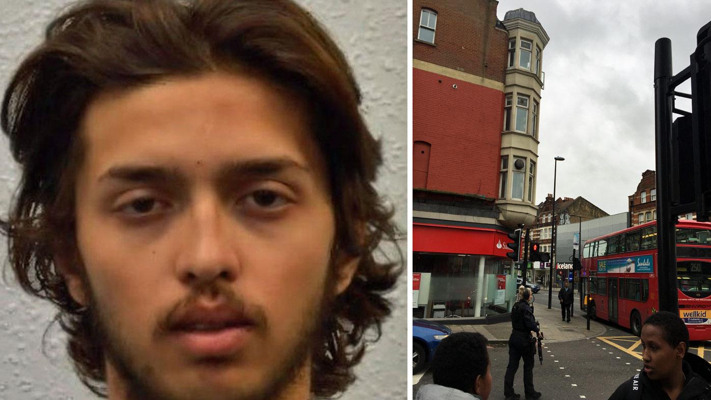 The attacker identified as Sudesh Amman by police. (Metropolitan Police).