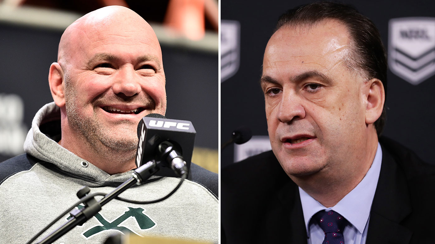 UFC Dana White offers support to NRL and Peter V'landys