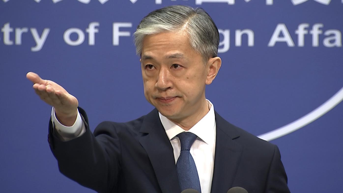 Foreign ministry spokesperson Wang Wenbin