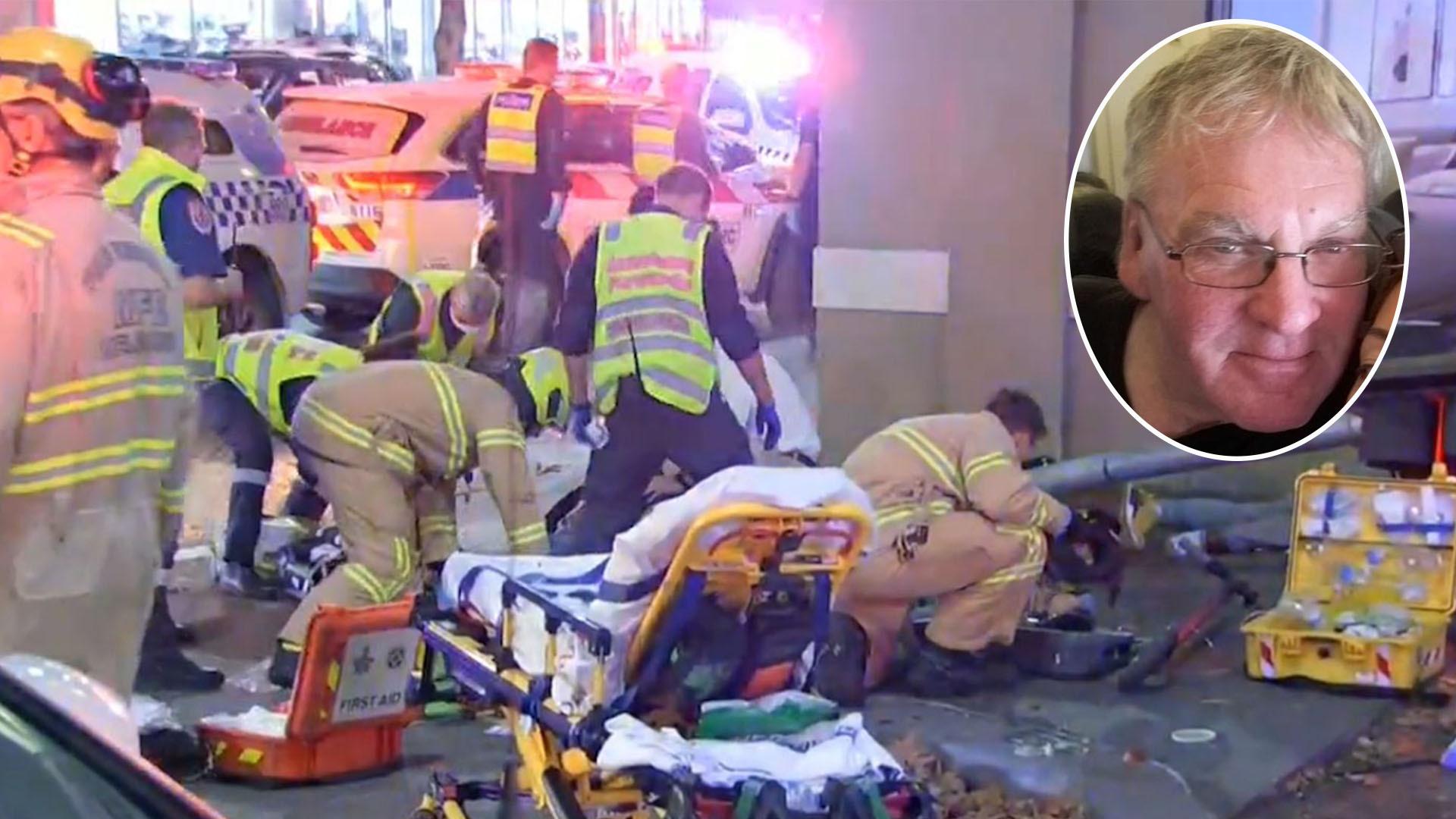 Melbourne truck driver bailed after allegedly hitting five pedestrians