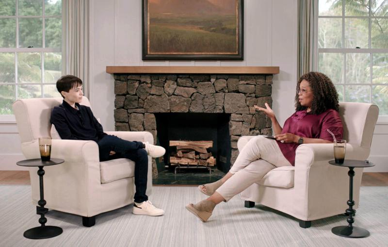 Elliot Page, Oprah Winfrey