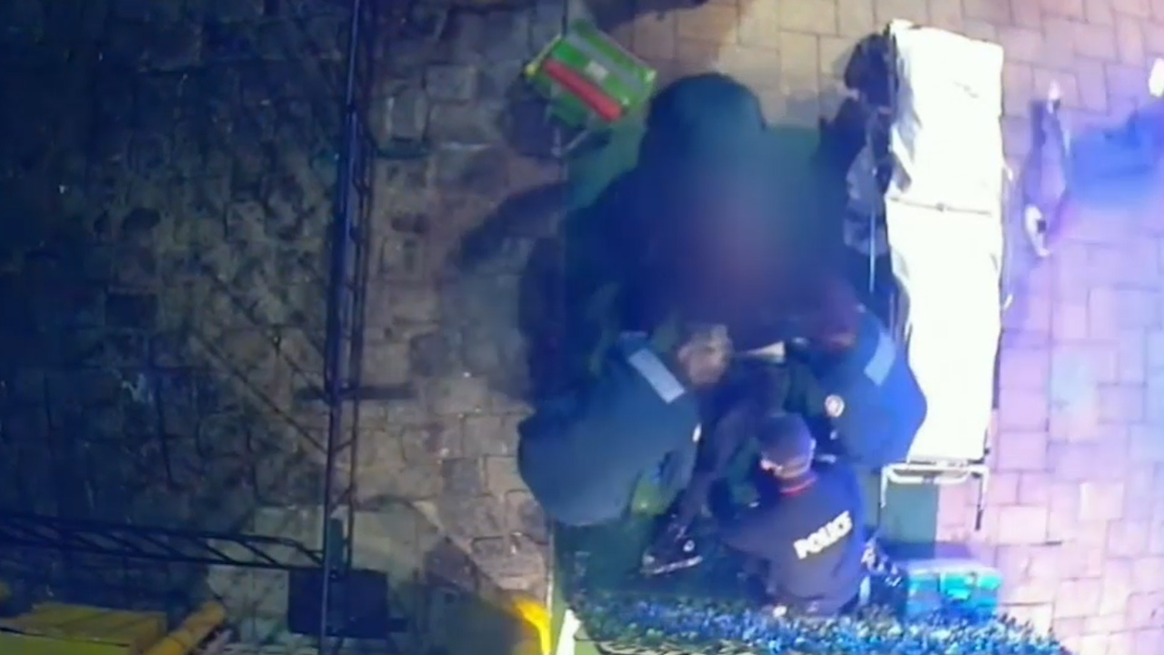 Man unconscious after street fight outside Rapture nightclub