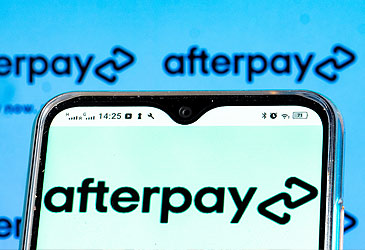 Afterpay logo on phone (Getty)
