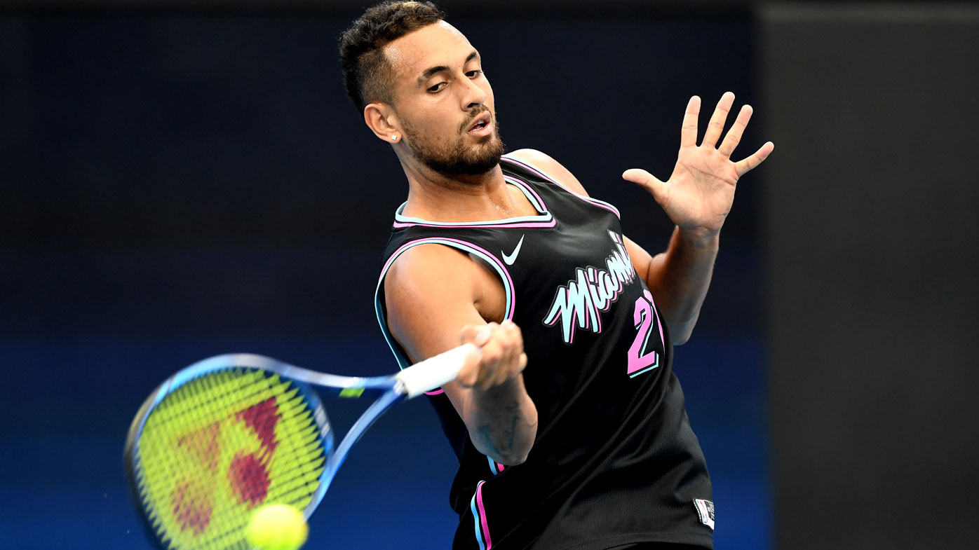 Tennis bad boy Kyrgios inspires fundraisers to help Australia fire victims