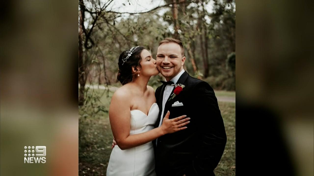 Garage car fire ruins newlyweds' wedding night