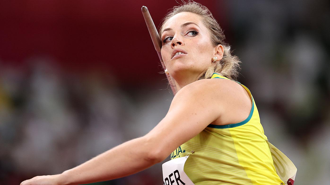 4e91587a e7ec 485b 8864 576b0fa753b7 Kelsey-Lee Barber takes bronze medal in javelin