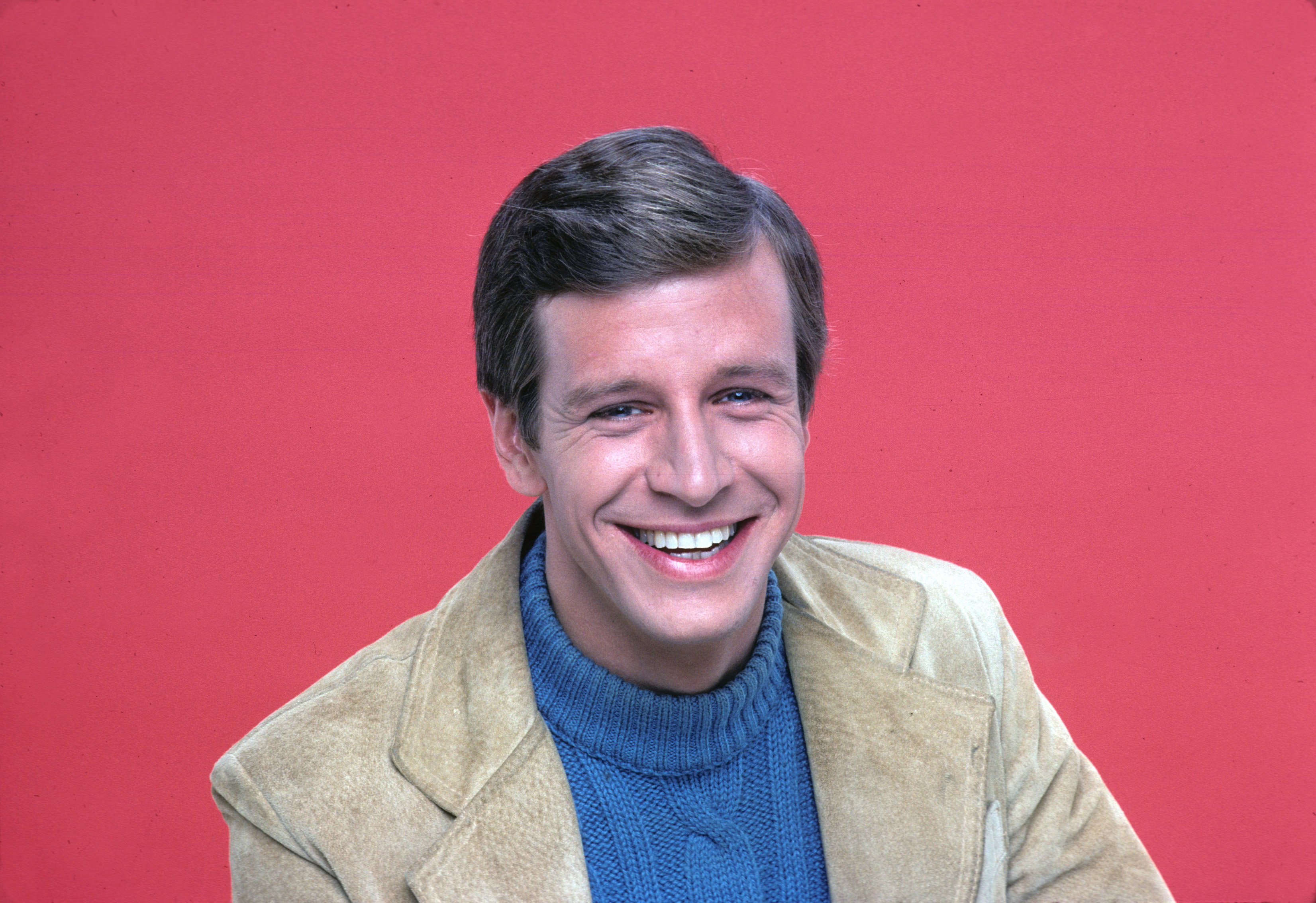 Richard Gilliland poses for head shot in 1977.