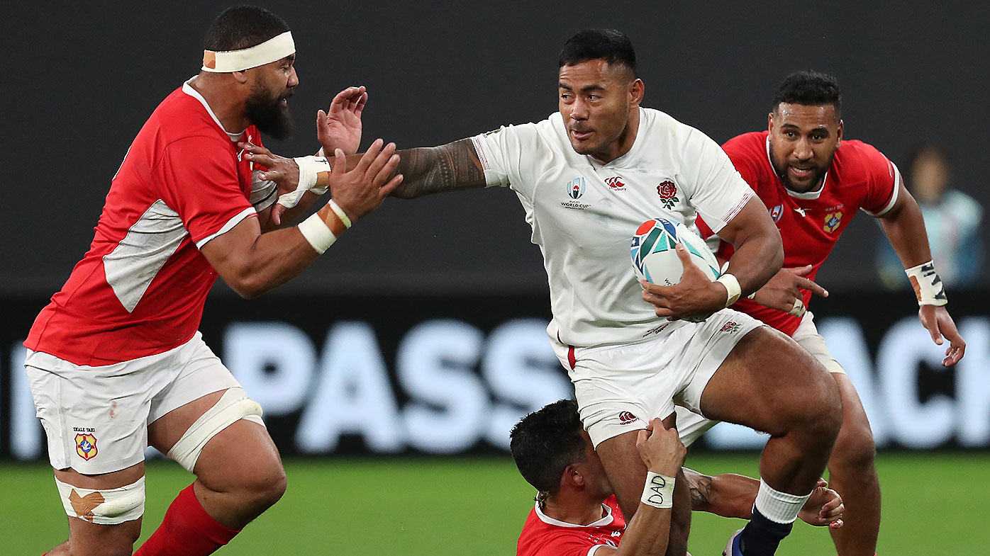 Tuilagi double leads scrappy England home