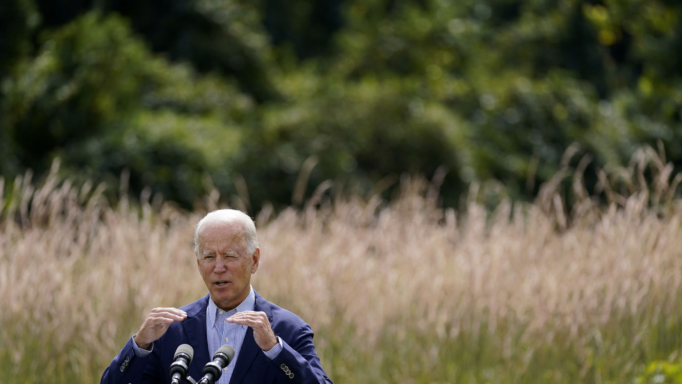 Joe Biden has proposed a complete phase-out of coal, oil and gas power generation by 2035.