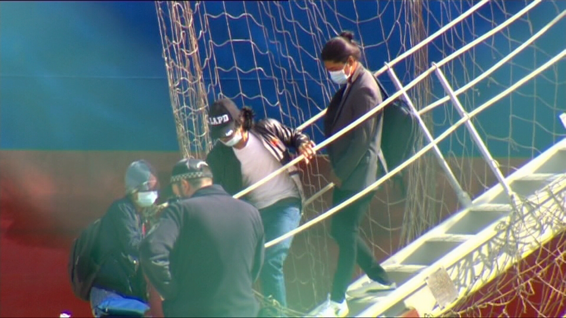 Standoff between foreign workers and ship owners over conditions