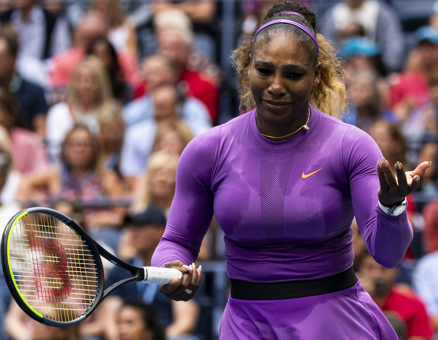 What caused this explosion of Serena rage, Wustoo