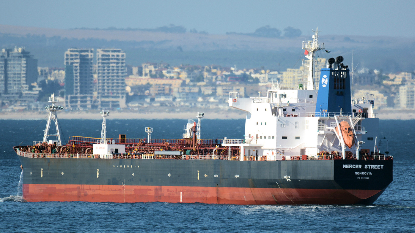 Deadly drone attack on tanker escalates Iran-Israel tensions