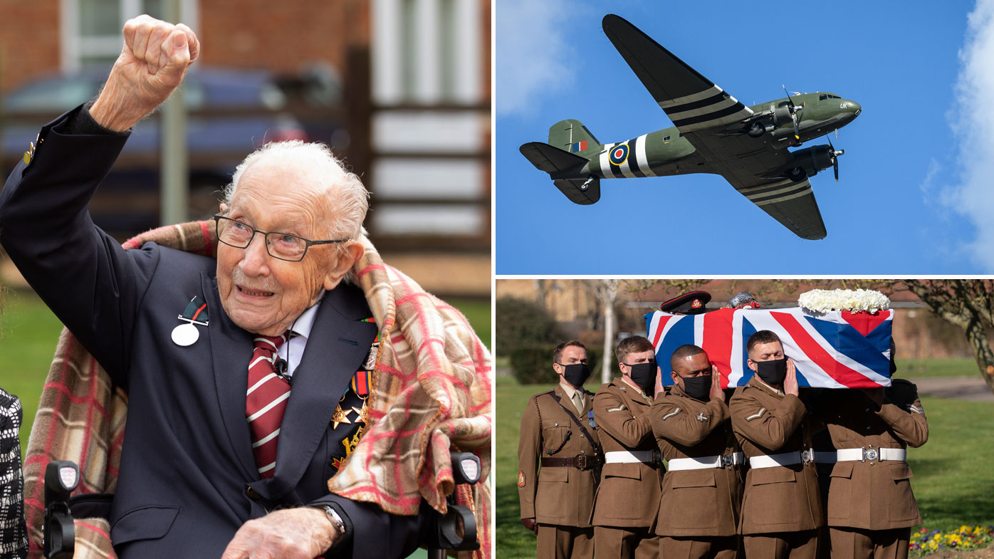 Captain Tom Moore farewelled