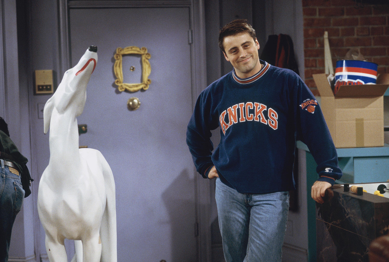 Matt LeBlanc as Joey Tribbiani in Friends.