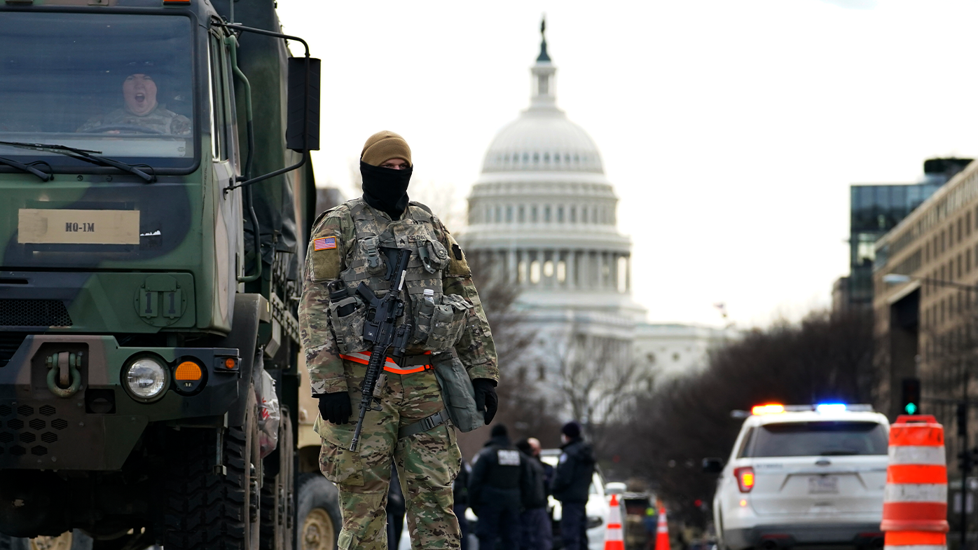 QAnon members 'discussed acting as National Guard to infiltrate inauguration'