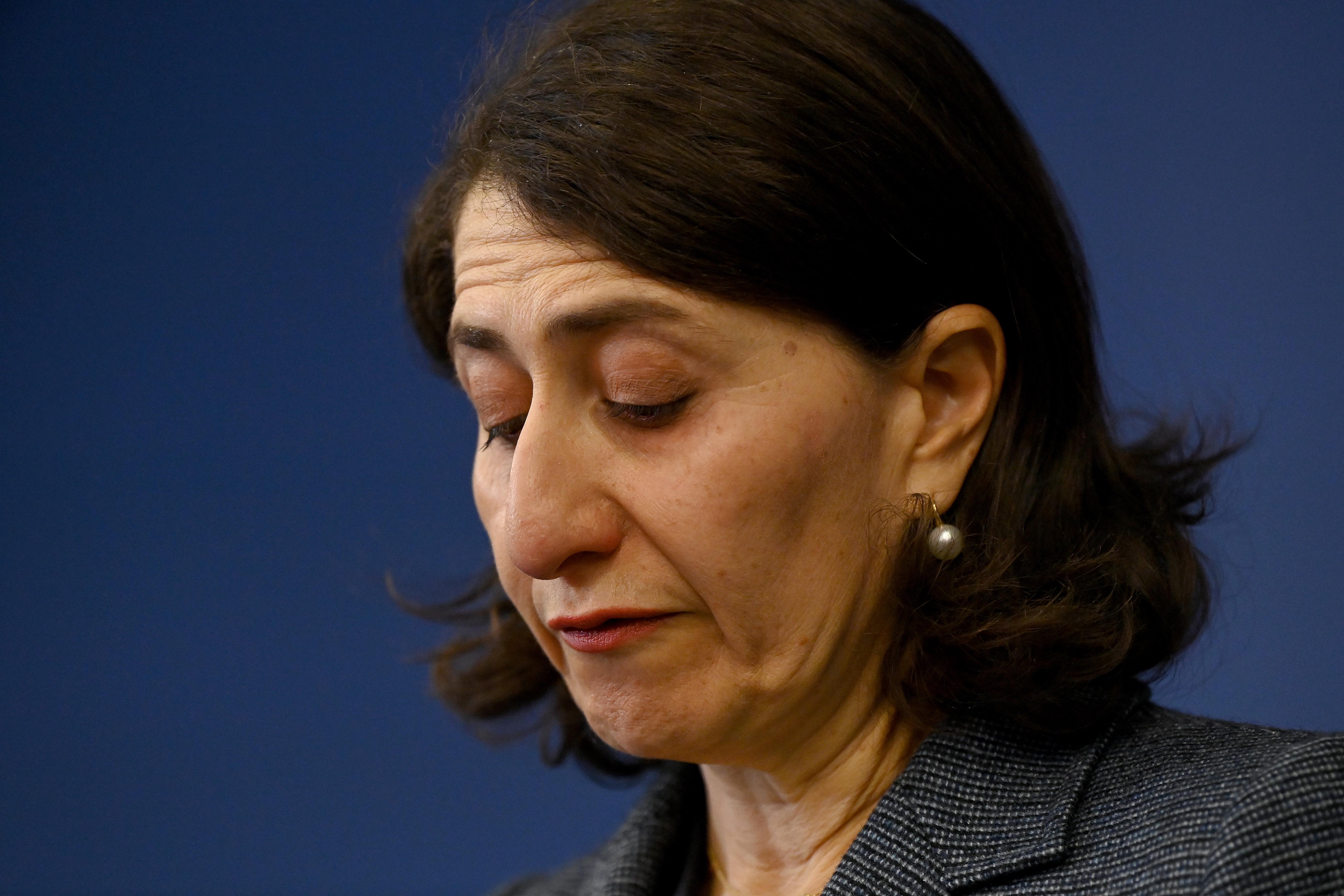 NSW Premier Gladys Berejiklian resignation