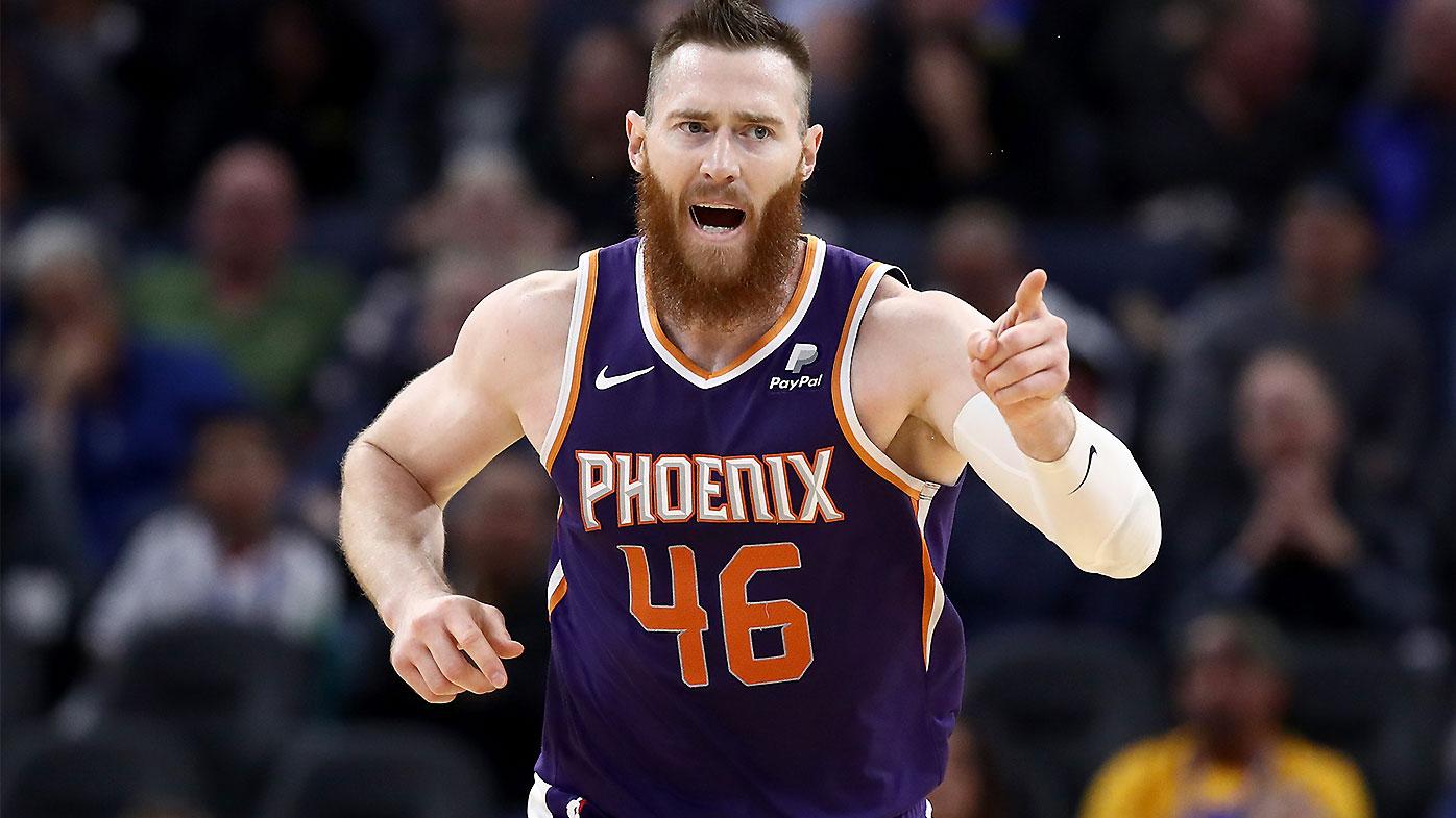 Phoenix Suns big man Aron Baynes tests positive for coronavirus