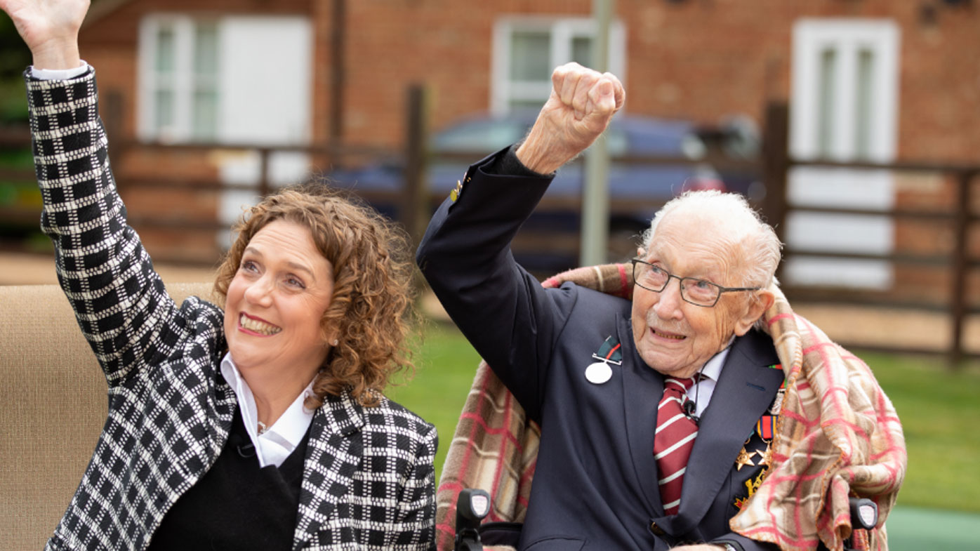 Fundraising hero Captain Tom Moore's 100th birthday flypast, after special promotion