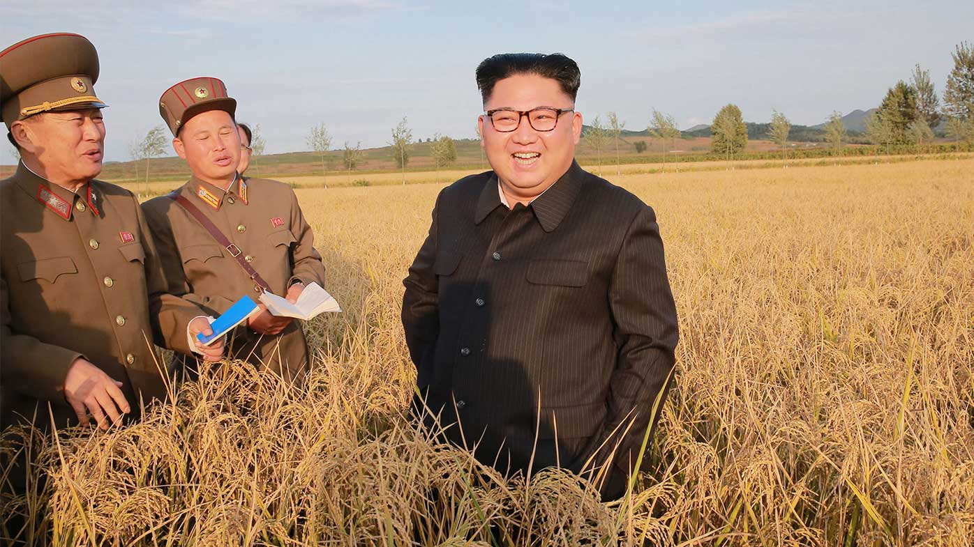 Kim Jong-un is presiding over a country with increasingly poor food security.