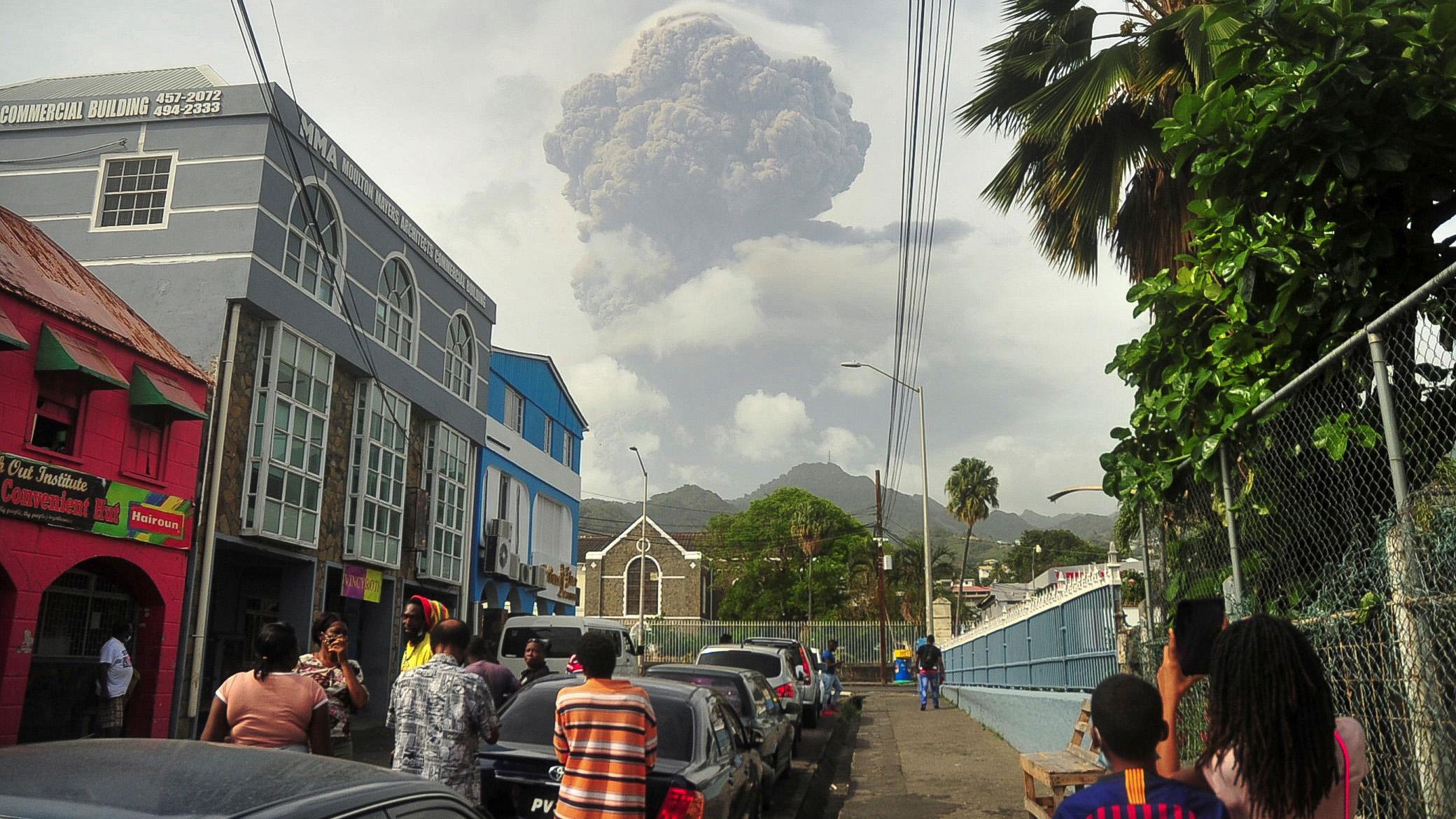 Volcano St Vincent