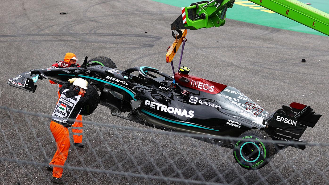 Shock winner as crash mars chaotic Hungarian GP