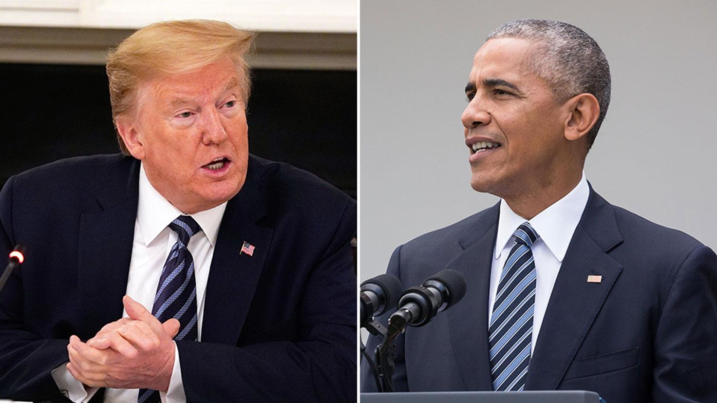 Trump hits back at Obama's COVID-19 criticism