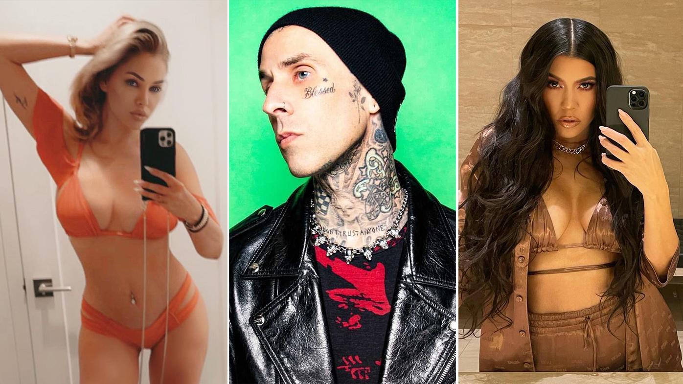 Shanna Moakler, Travis Barker, Kourtney Kardashian