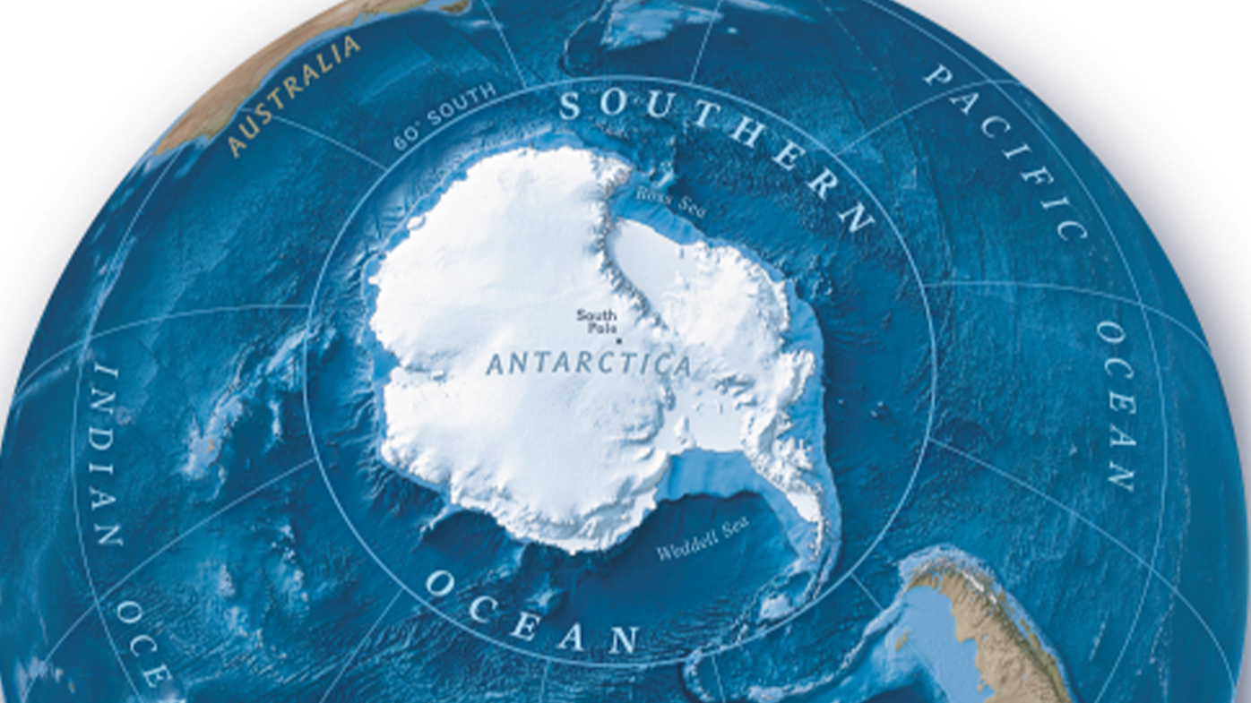 The icy waters surrounding Antarctica are now a recognised ocean.