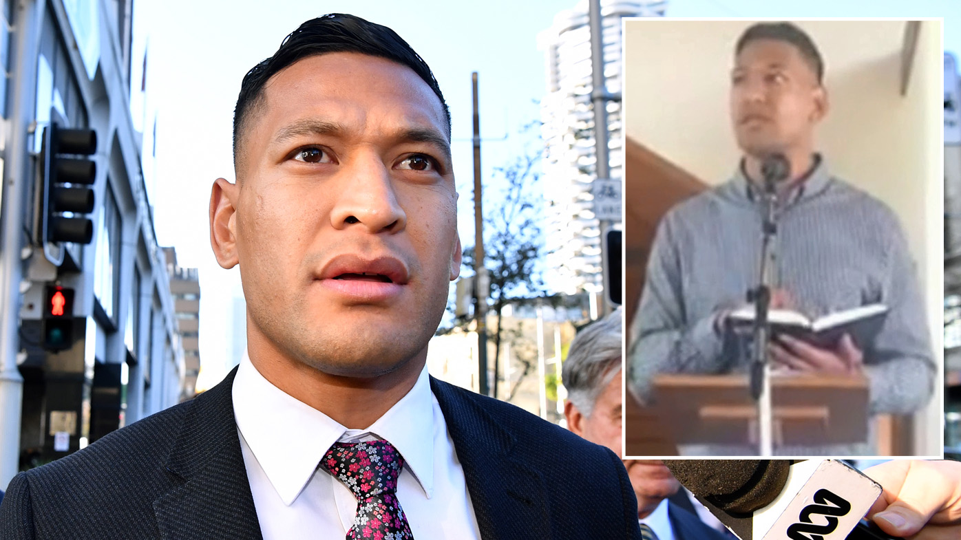 Israel Folau's latest claim caps off Rugby Australia's year from hell