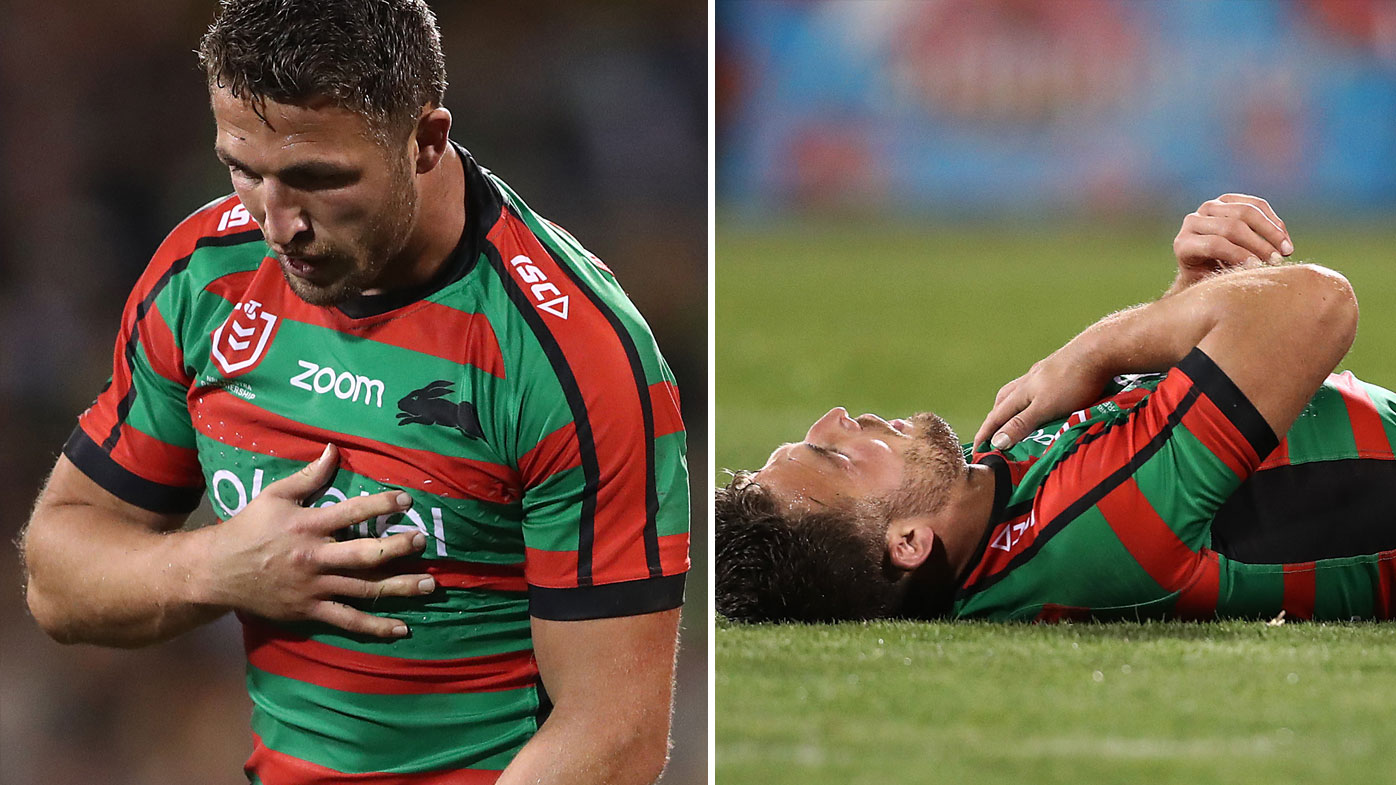 Sam Burgess struggling with shoulder issues
