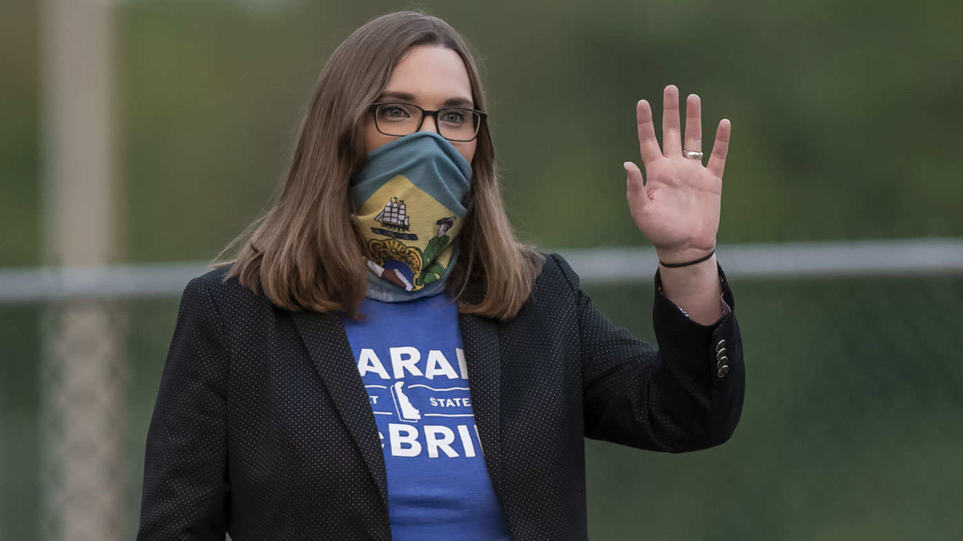Sarah McBride will become the first US senator to identify as transgender.
