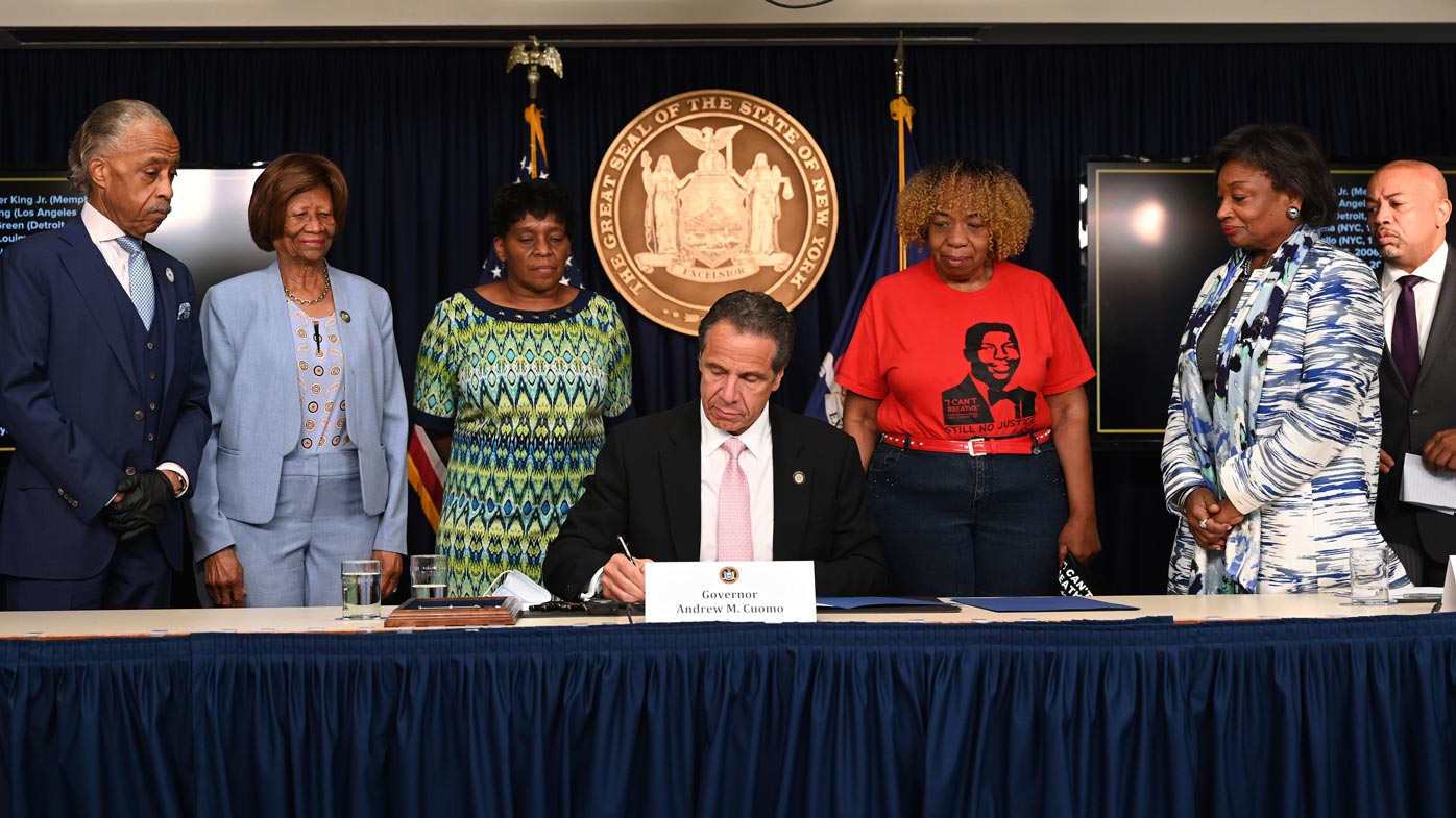 New York governor signs police accountability legislation