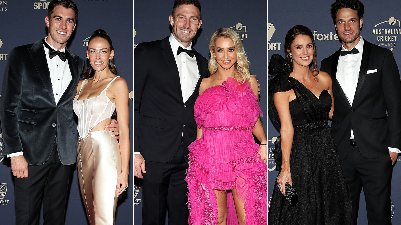Australia's most stylish couples hit the red carpet for the Cricket Awards