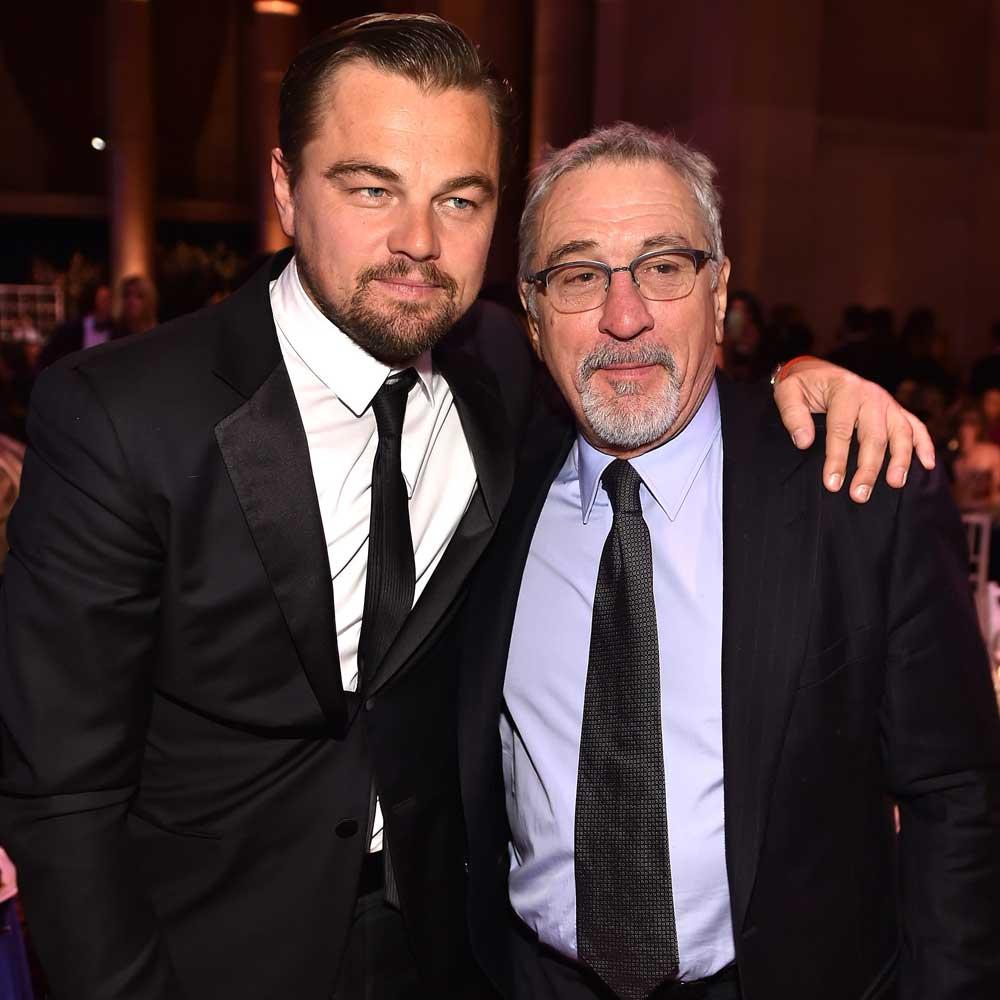 Leonardo DiCaprio and Robert De Niro.
