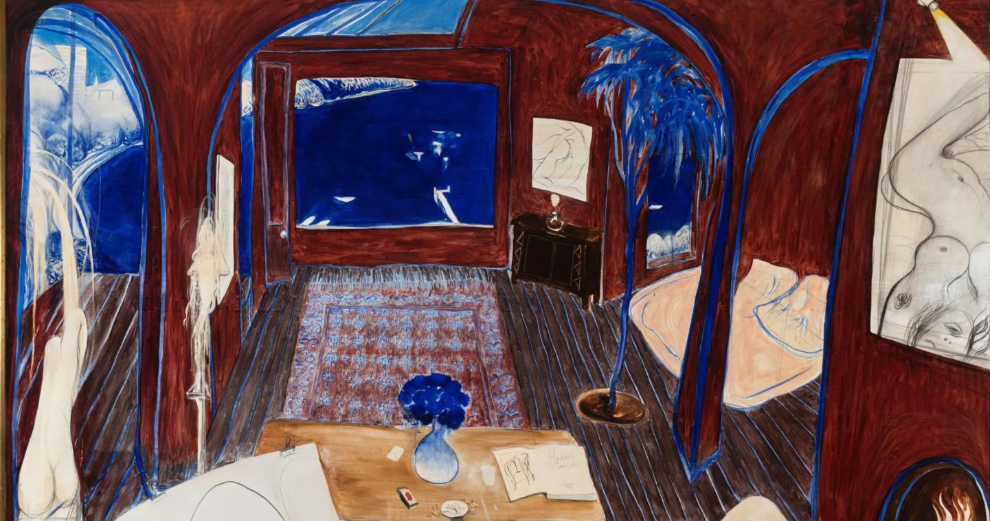 Brett Whiteley painting breaks auction record, selling for $6 million