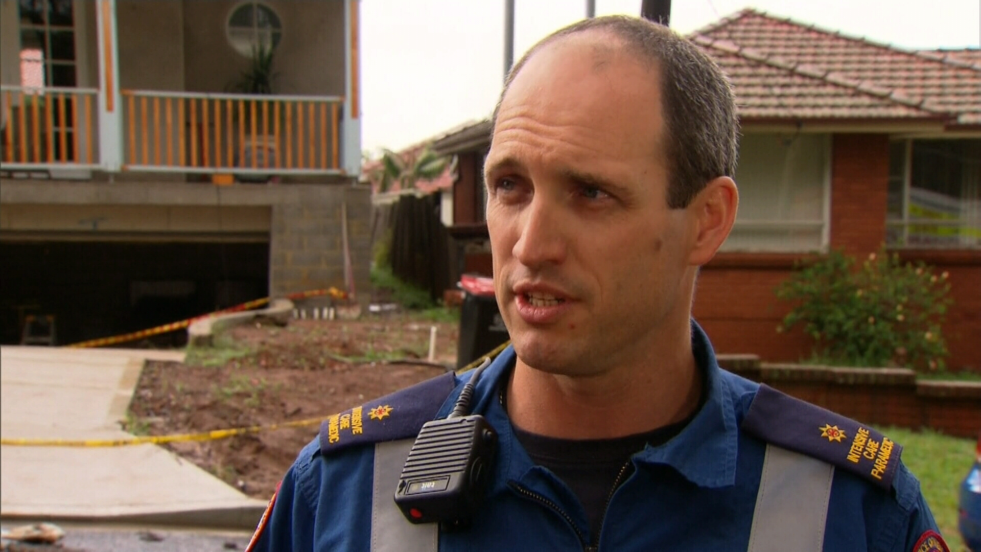 Marcus Hunziker from NSW Ambulance Special Operations described the call out as very scary.