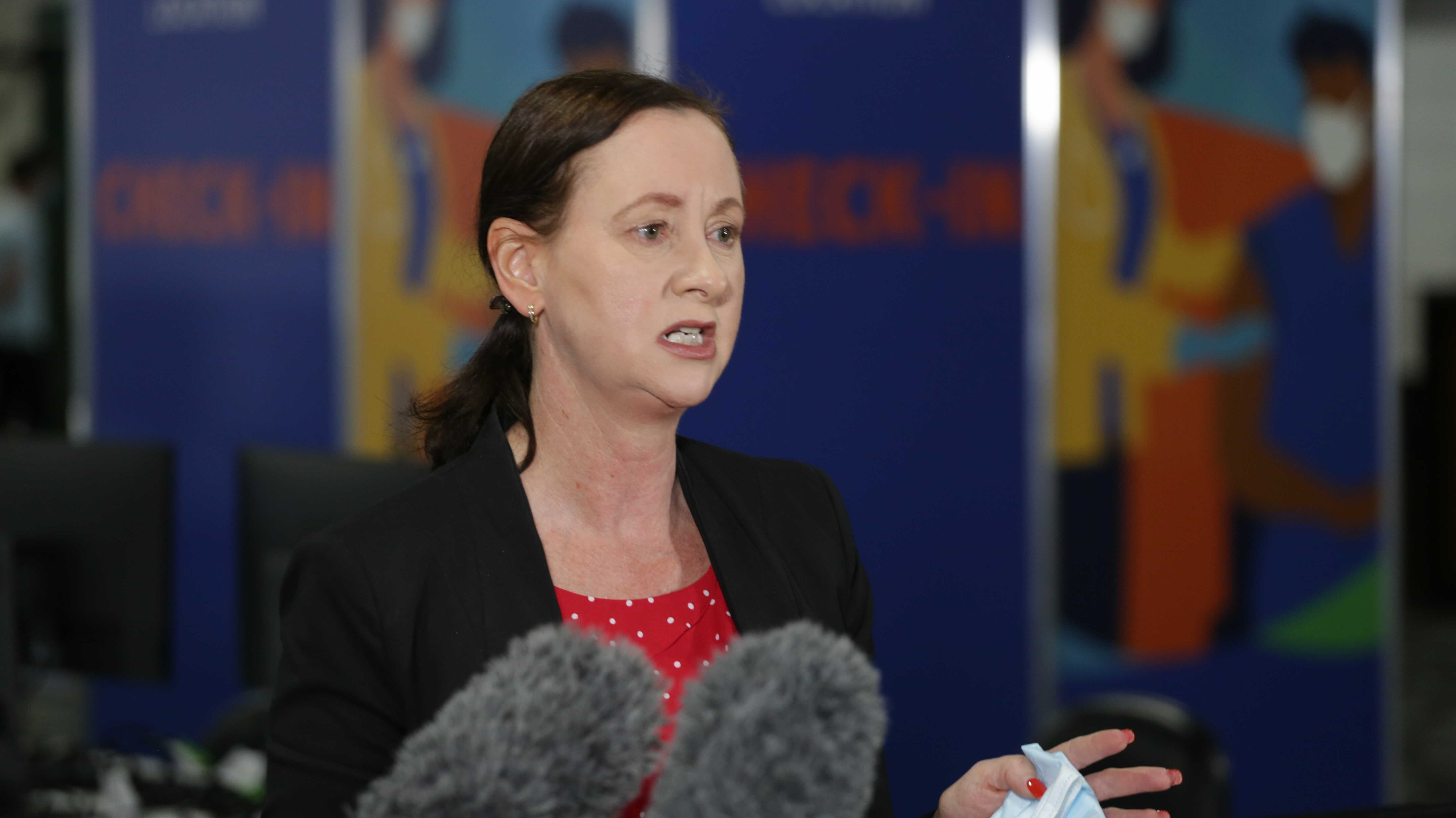Queensland Health Minister Yvette D'Ath expressed frustration about inaccuracy surrounding the ADF's personnel request.