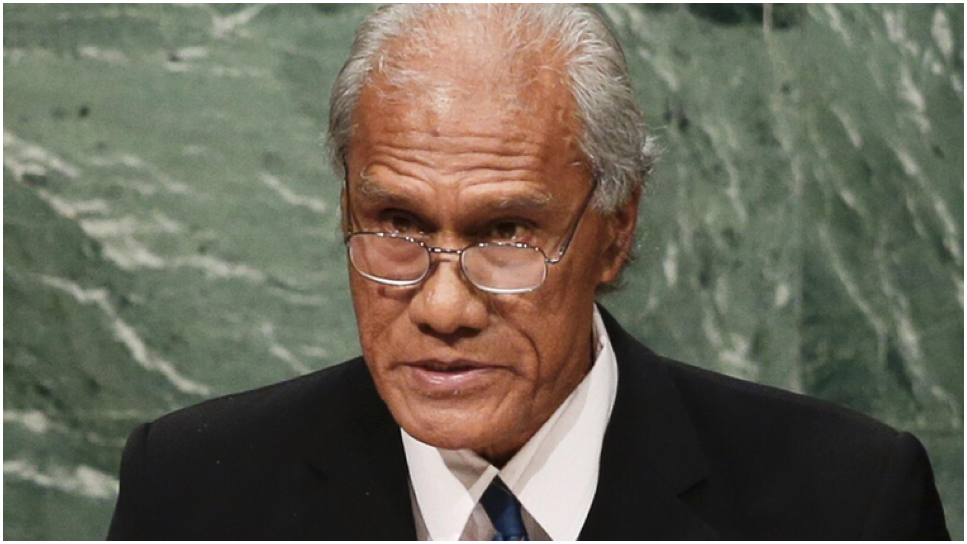 Tongan prime minister dies in New Zealand