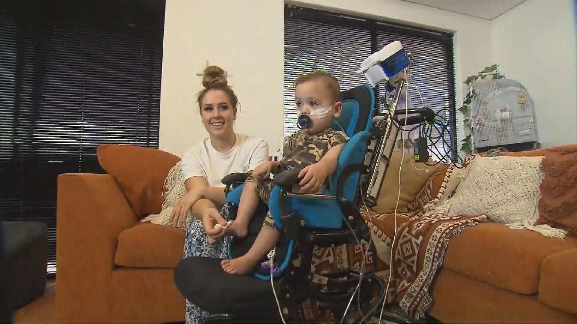Heartless thief steals lifesaving oxygen from sick baby boy
