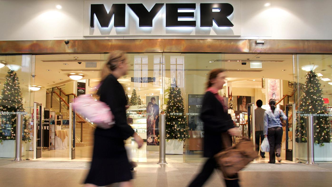 Myer's FY profit impresses, but sales slip