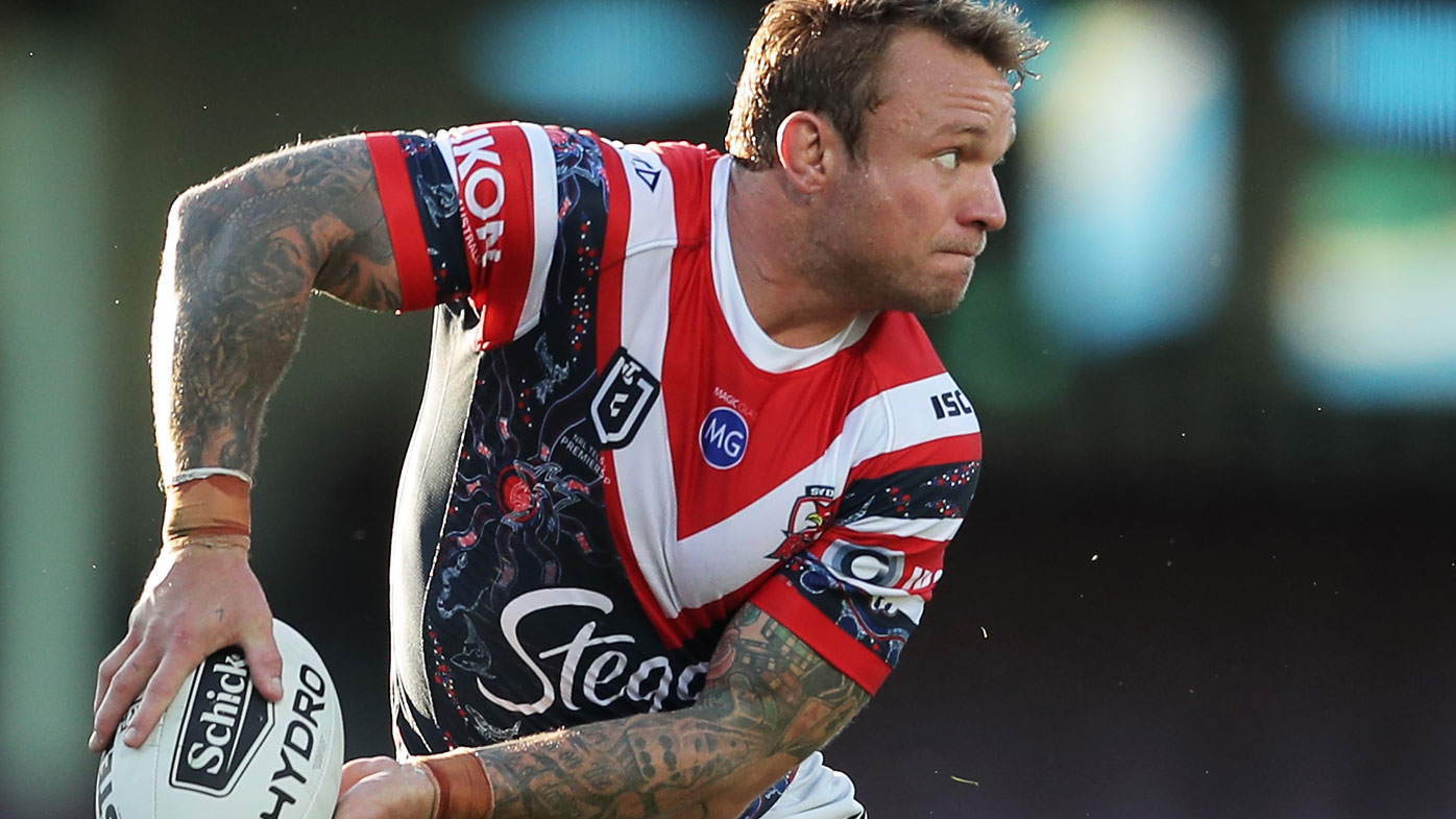 Jake Friend enjoyed an illustrious career with the Roosters. (Getty)