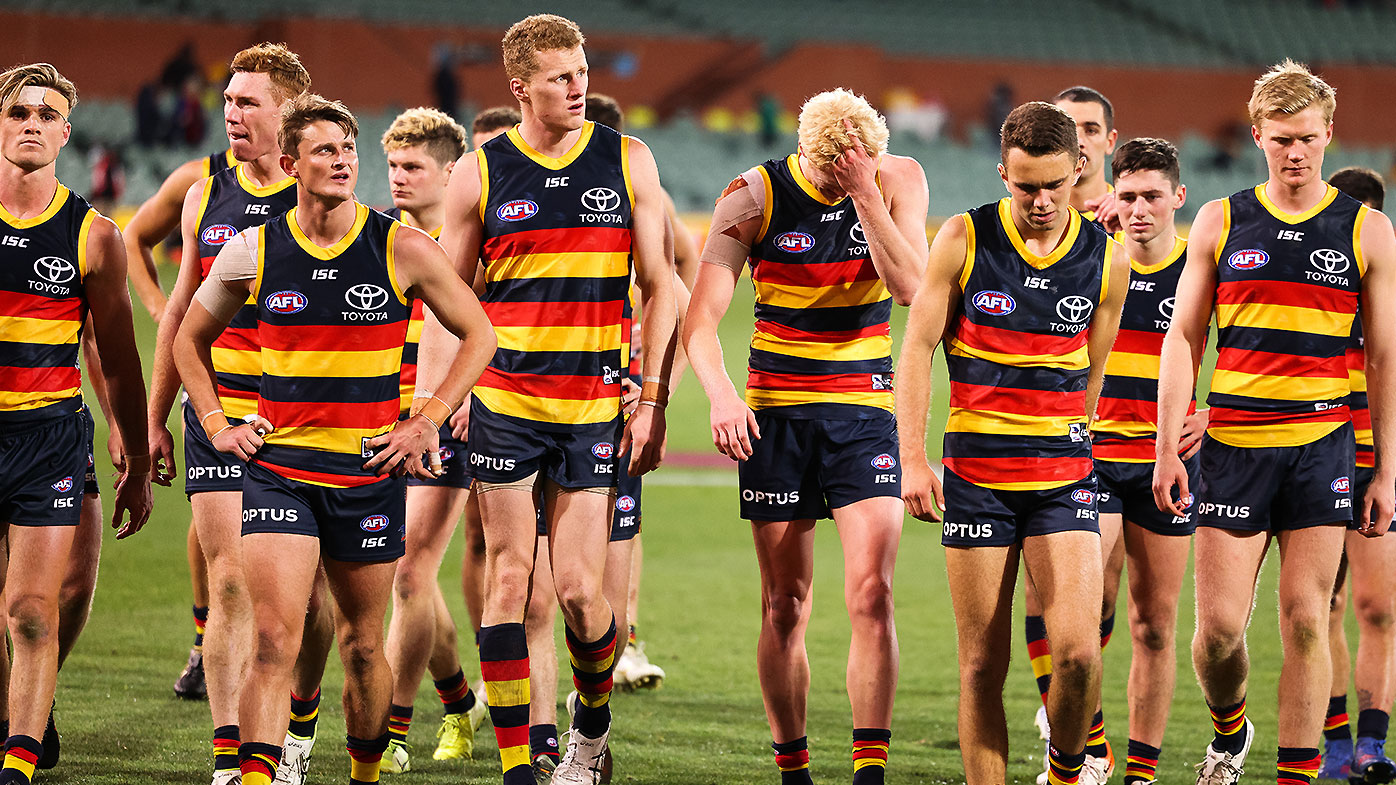AFL great unleashes on winless Crows culture