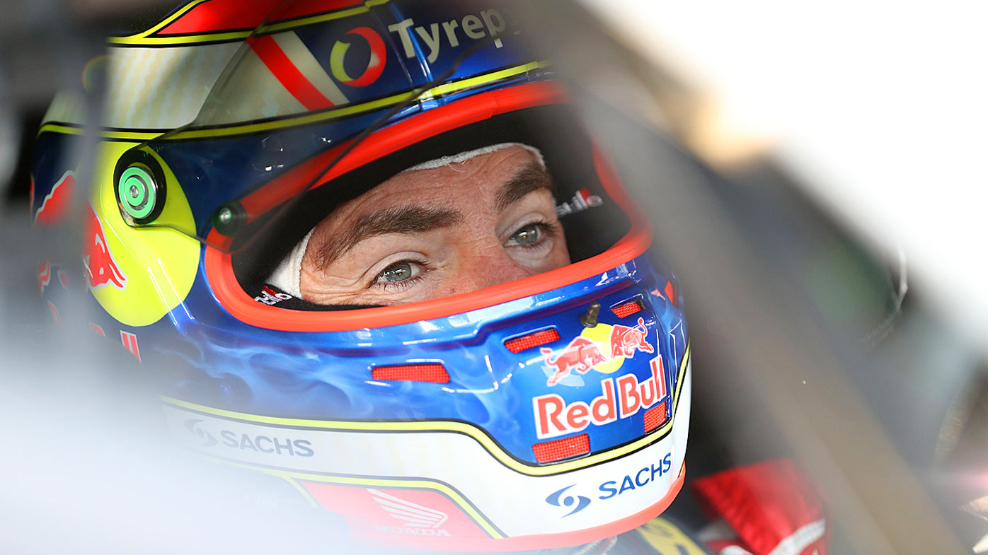 Craig Lowndes driver of the #888 Red Bull Holden Racing Team Holden