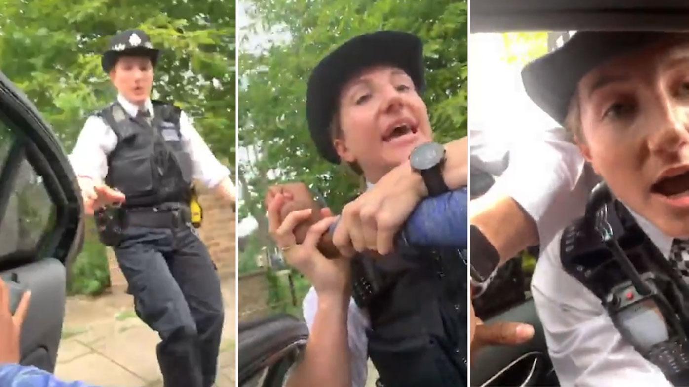'Shaken' British sprinter accuses police of racial profiling