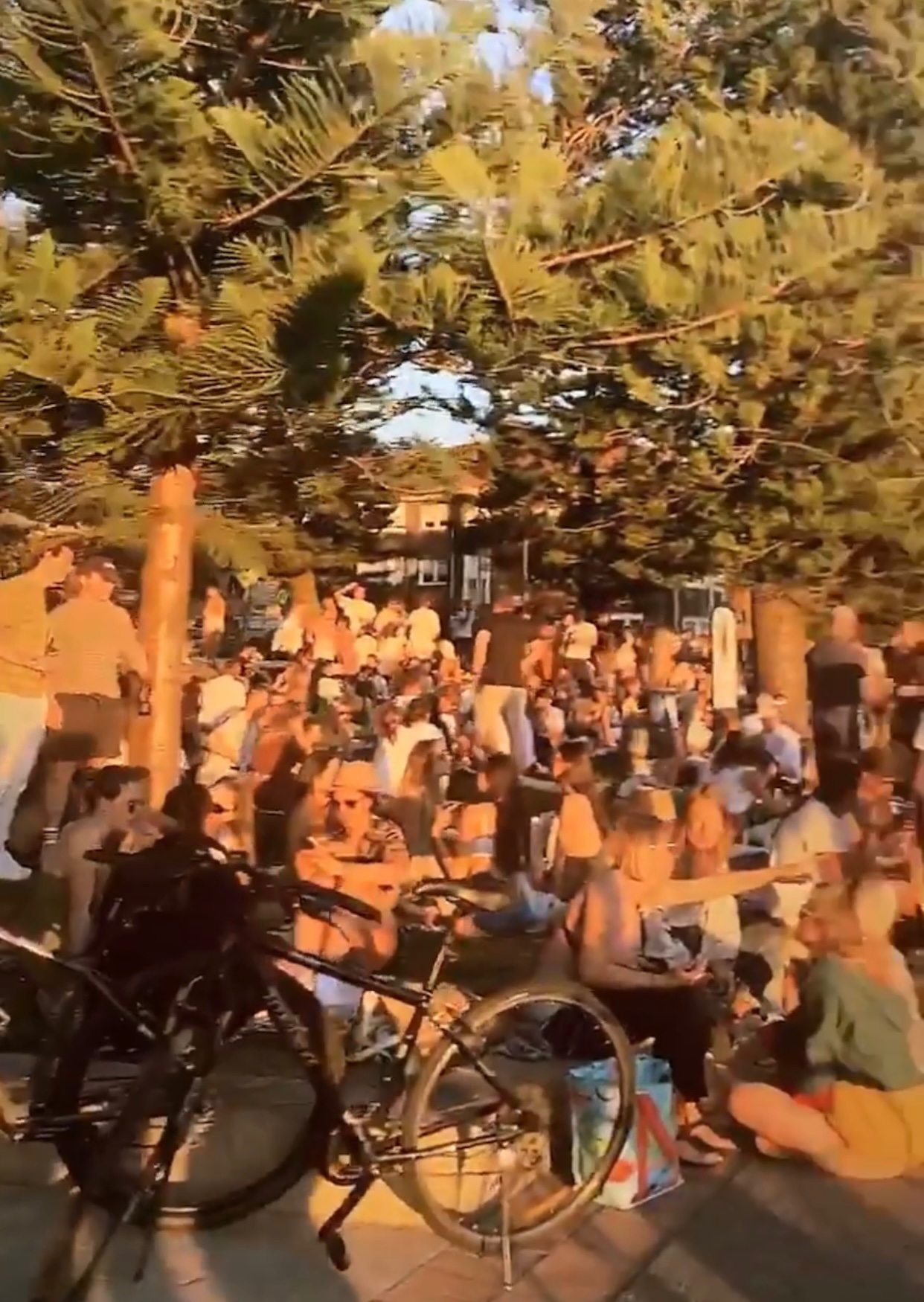 Police called to break up huge crowds at Bondi and Manly